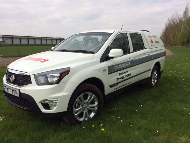 Another SsangYong Musso Pick Up going into use