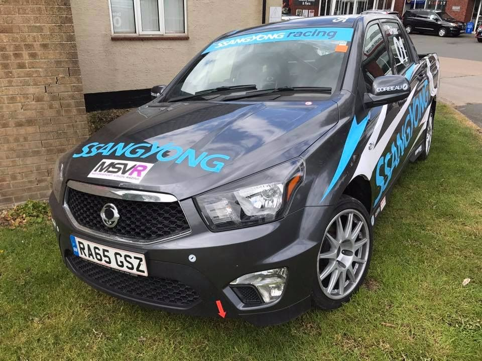 SsangYong Musso Race Pick Up
