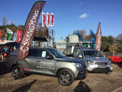 New Rexton on show