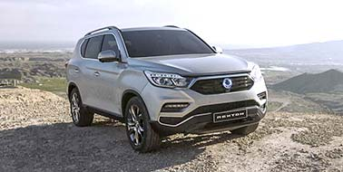 New SsangYong All New Rexton from £28,995