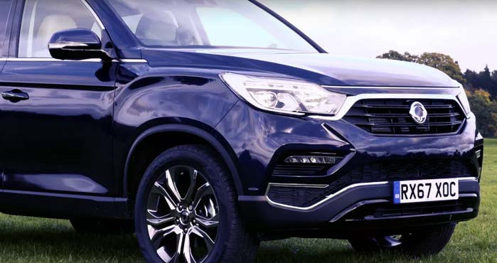SsangYong Rexton Features Video